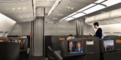 Ultramodern new cabins for SAS long haul aircraft -2014